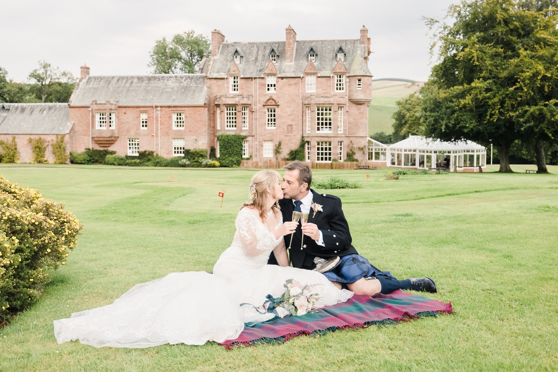 Tom Migot Photography wedding Scottish Borders